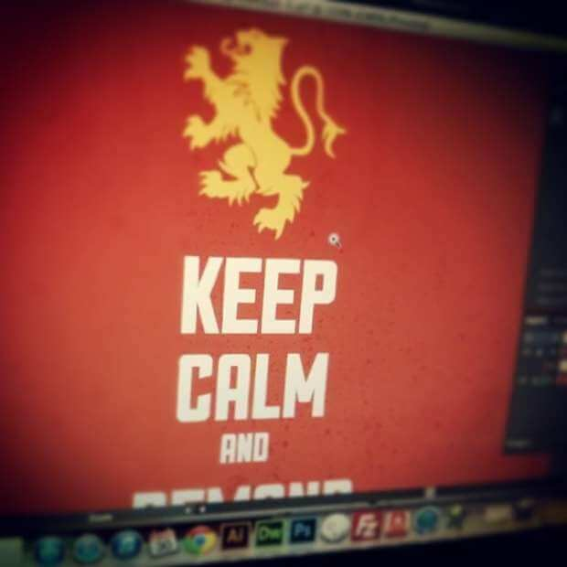 Keep Calm Design Sneak Peek