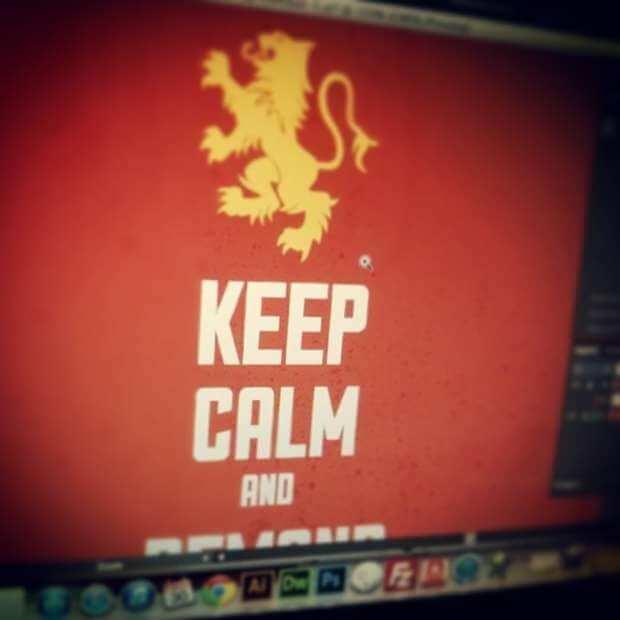 Keep Calm Design Sneak Peek