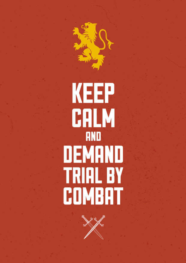 Trial By Combat Design